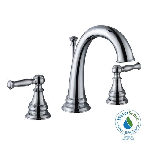 glacier bay bathtub faucets glacier bay widespread 2 handle high arc bathroom faucet
