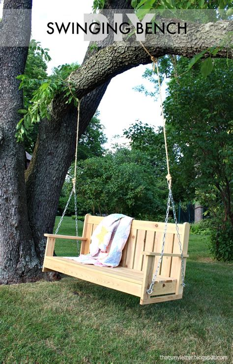 free swinging uk that s my letter cedar swinging bench free plans