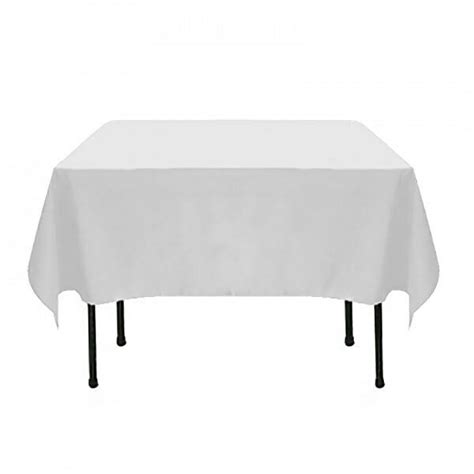 bulk lot  square table cloths white tablecloths wedding