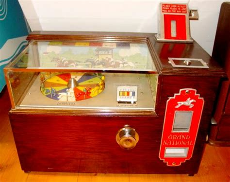 Sweepstakes Grand National - seeburg grand national sweepstakes horse race coin operated penny arcade game