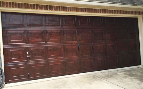 Charming Garage Door Stain Colors #1: Scd-wood-stains-gel-oil-based-erin-20150815-what-once-was-old-furniture-design-garage-door-brown-mahogany-gel-stain-general-finishes_0.jpg