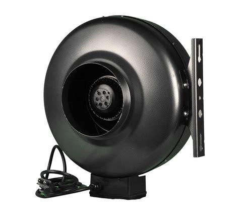 6 inch inline fan 6 inch hydroponic inline exhaust vent fan duct blower ebay