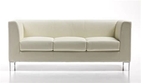 3 seater upholstered sofa in easy style for medical studio