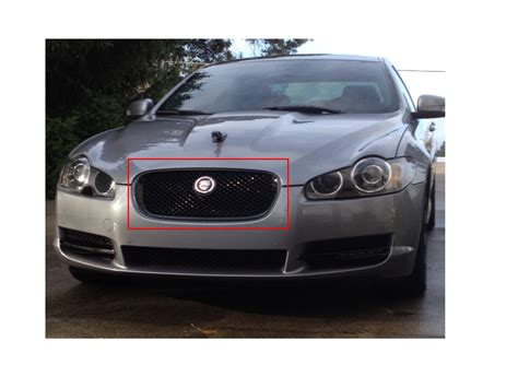 jaguar grill xf 2007 2011 pre facelift grille grill all chrome xf r