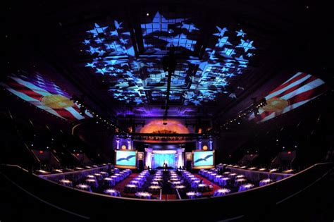 Ceiling Projection by The Visual Trickery That Turns Hockey Rinks Into Lakes Of