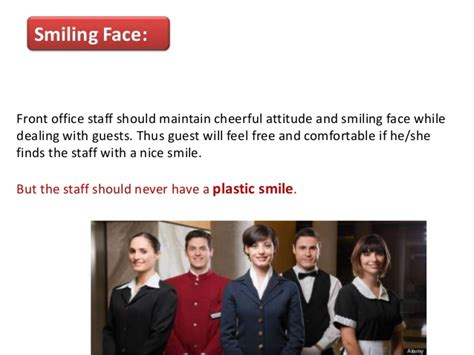 Qualities Of A Front Desk Officer Must Qualities Of Hotel Front Office Associates