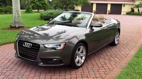 convertible audi used used audi a5 convertible with audi s cabriolet and
