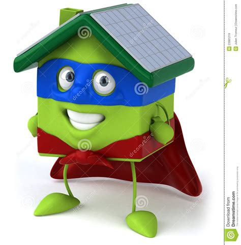 green house with solar panels royalty free stock images