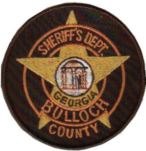 Bulloch County Sheriff S Office by Swiss Patches