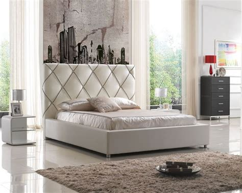 tall white leather headboard bookcase headboards queen tall modern leather bed