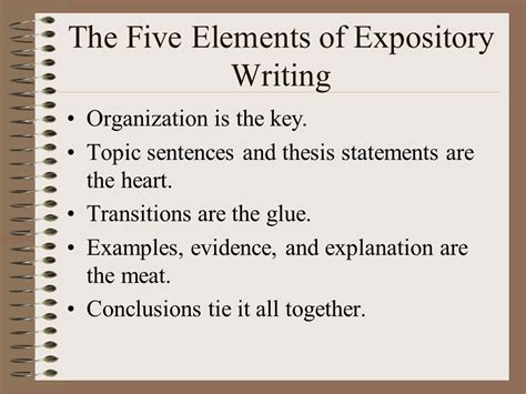 Elements Of Essay Organization by Name Ppt