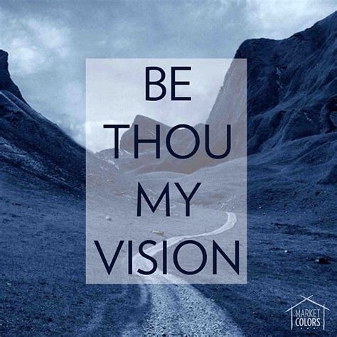 be thou my visio be thou my vision word s
