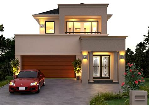 One Story Tuscan House Plans beautiful double storey small house plans modern