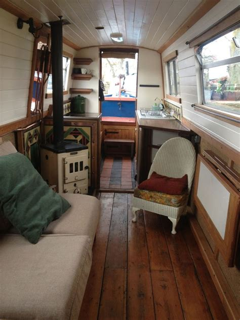 small boat interior design ideas canal boat boats living interiors inspiration barges