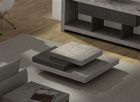 designer coffee tables modern concrete coffee table