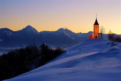 jamnik  romantic village  julian alps slovenia