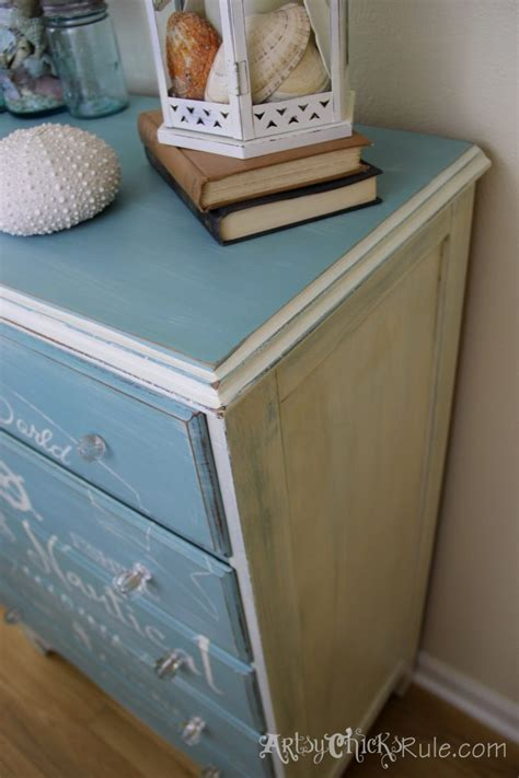 chalk paint in stores coastal themed chest w custom graphics sloan chalk