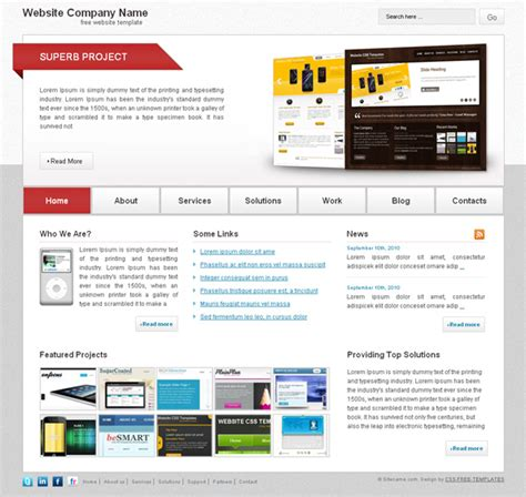 professional website templates free html with css jquery archives longislandmaxi