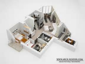 Home Design 3d Levels by 3d Floor Plans Architectural Floor Plans Home Plans 3d
