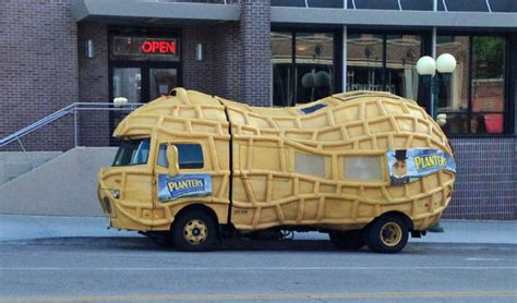 Planters Nutmobile by Planters Nutmobile Will Be In Town Through Sunday The