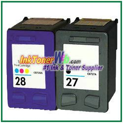 Tinta Hp 27 28 Combo Pack Original hp 27 28 compatible ink cartridges 2 combo