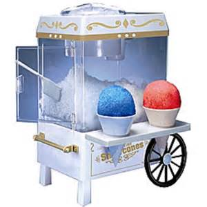 Vintage Snow Cone Maker Nostalgia Electrics Kitchen Small