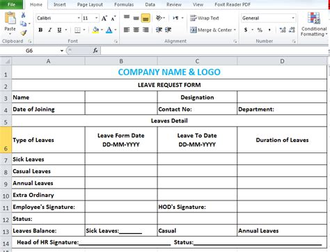 Exle Vision Statement For Mba Admission by Casual Leave Application Format In Ms Word Form Template