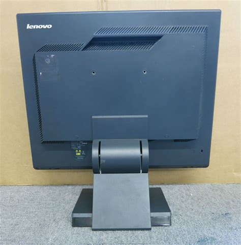 Monitor Lcd Builtup Lenovo 19 Wide Screen lenovo 6135 ag2 l191 thinkvision 19 inch lcd tft flat