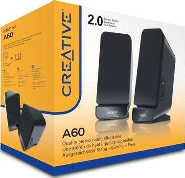 Speaker Aktif Creative Sbs A60 creative sbs a60 2 0 desktop speaker buy best price in uae dubai abu dhabi sharjah
