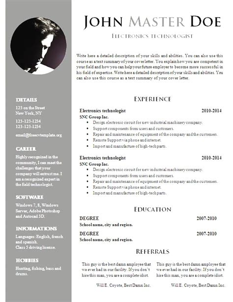 Resume Template Free Au browse business resume sle 2018 best business resume