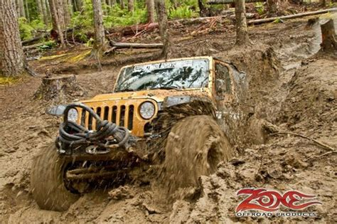 Jeeps In Mud Offroad 4x4 Jeep In Mud Road 4x4s