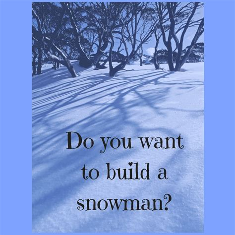 i want to build a house where do i start do you want to build a snowman susan m barber coaching