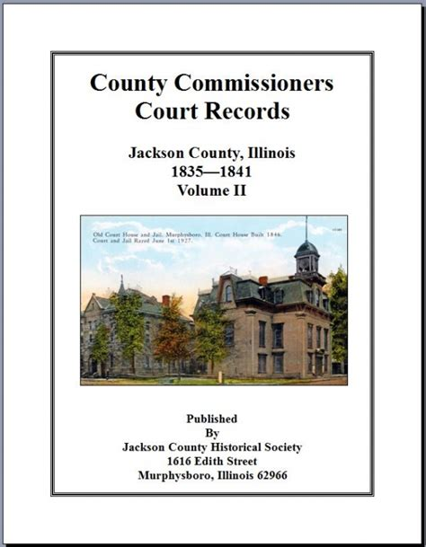 Cache County Court Records County Commissioners Court Records Vol Ii