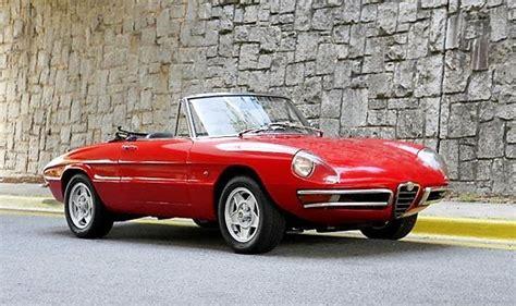 of the day 1967 alfa romeo 1600 spider duetto