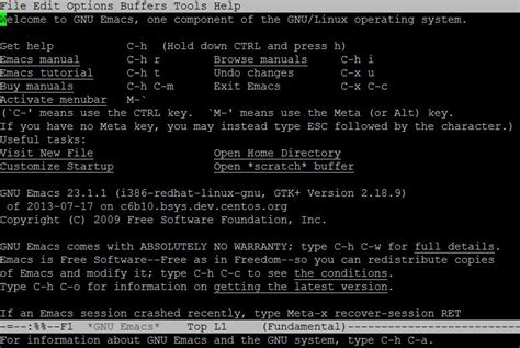 tutorial emacs linux how to use the emacs editor in linux digitalocean