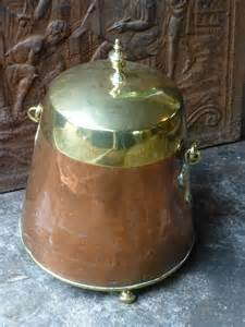 vintage fireplace accessories 19th c copper doofpot at 1stdibs