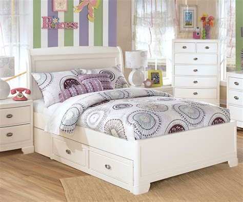 durable size bedroom sets in white color silo