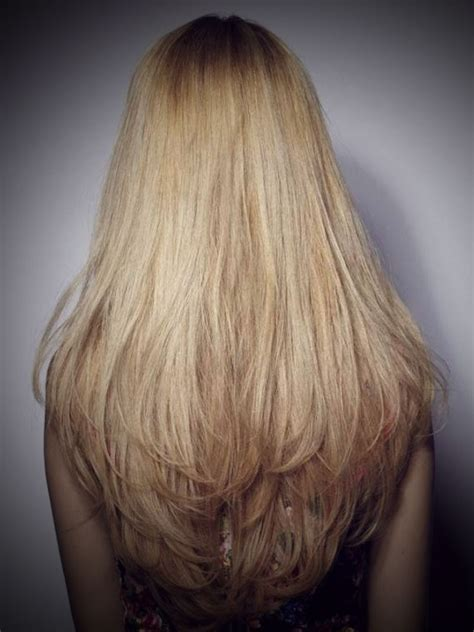 long layered hair front and back view long layered hair back view hairstyle ideas magazine