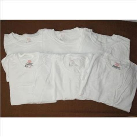 most comfortable white t shirts hanes our most comfortable men s lot of 6 crew neck t