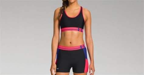 Es Shes 004 Swimwear Renang Fitness Sport Running Lari Jog women s ua heatgear 174 armour sports bra armour us