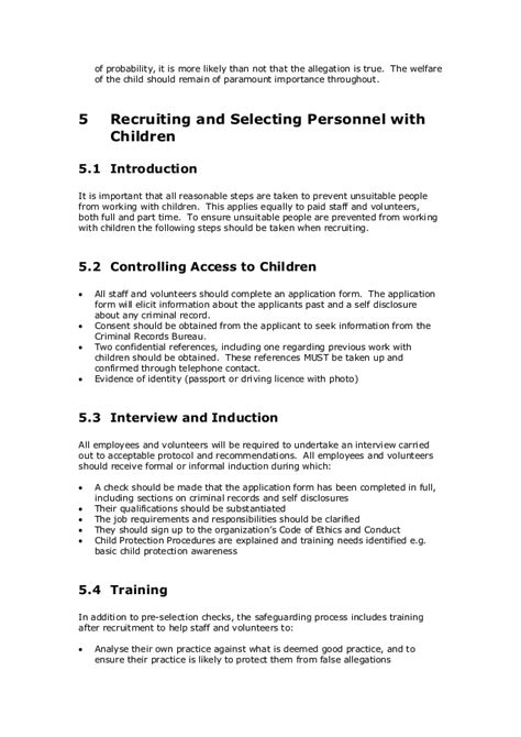 child protection policy template for community groups template cpsu child protection policy