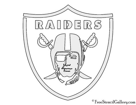 oakland raiders logo coloring pages coloring pages