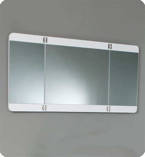 folding bathroom mirror 36 energia fvn5092pw white modern bathroom vanity w
