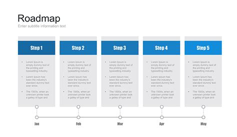 Powerpoint Roadmap Template Free Download Now Slides Roadmap Template