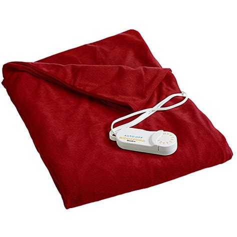 comfort knit heated blanket biddeford comfort knit super soft heated throw blanket