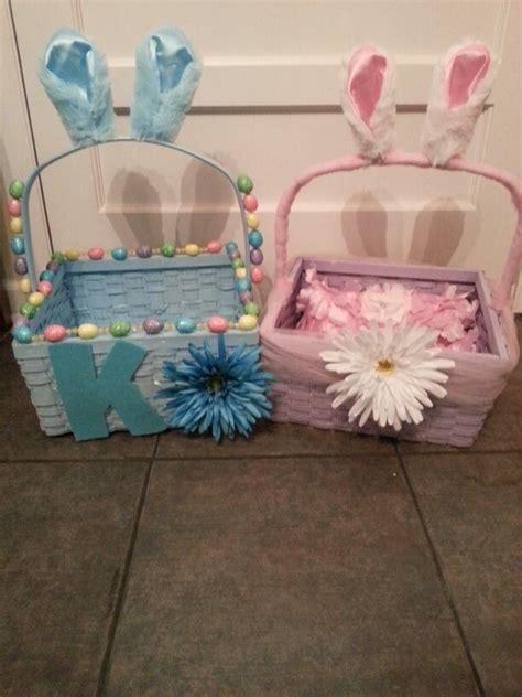 homemade easter basket ideas homemade easter baskets family bucket list pinterest