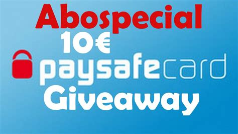 Paysafecard Giveaway - 10 paysafecard giveaway 100 abospecial twixyhd closed youtube