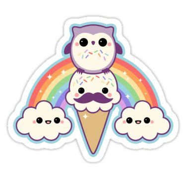 Kung Souvenir Mukena Rainbow Belleza White4 owl cone with rainbow sticker cones cloud and owl