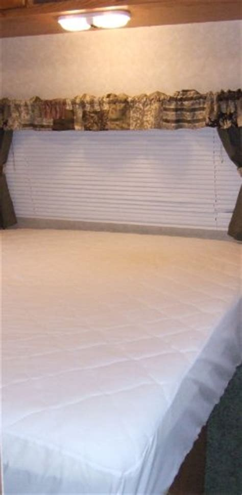 Travel Trailer Mattress Toppers by Mattress Pads Mattress Pad Mattress Cover For