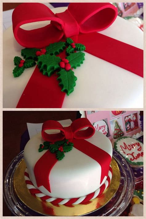 matured xmas cake designs toppers galore decorating your cake 17 stylish